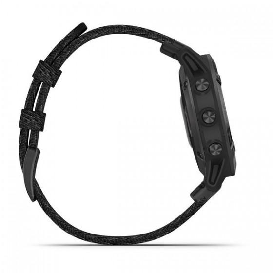 Fenix 6 Pro and Sapphire Revêtement en carbone amorphe noir