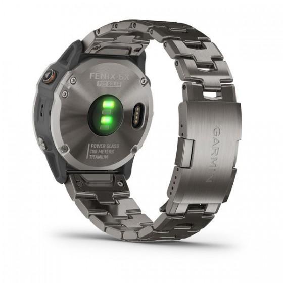 Fenix 6X Pro Solard Edition titane