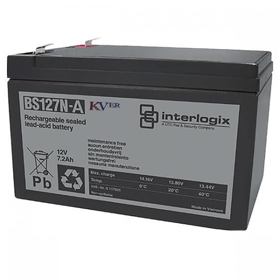 BS127N Batterie rechargeable au plomb 12V - 7.2 Ah