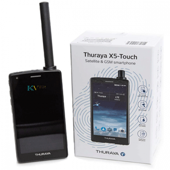TELEPHONE SATELLITE THURAYA X5 TOUCH SUR LE MAROC