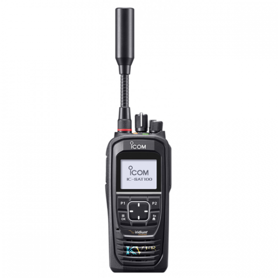 """IC-SAT100 SATELLITE PTT ICOM Communications """"Push-To-Talk"""" par satellite en temps réel !"""