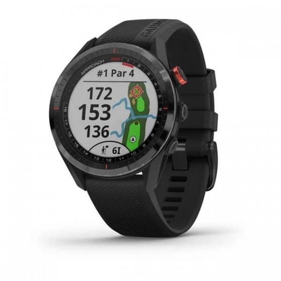 Montre Spécial GOLF Approach S62 Céramique noir avec bracelet noir