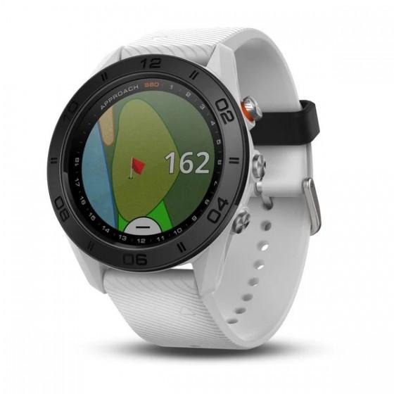 Montre Spécial GOLF Approach S60 Blanche avec bracelet en silicone blanc