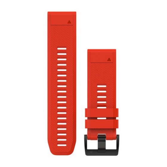 Bracelets QuickFit 26mm Silicone Rouge