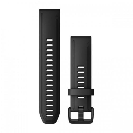 Bracelets QuickFit 22mm Silicone noir