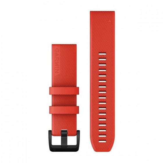 Bracelets QuickFit 22mm Silicone Rouge vif