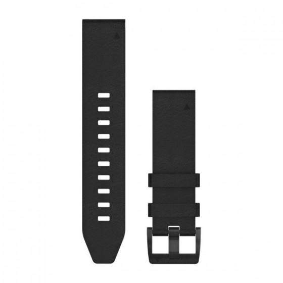 Bracelets QuickFit 22mm cuir noir