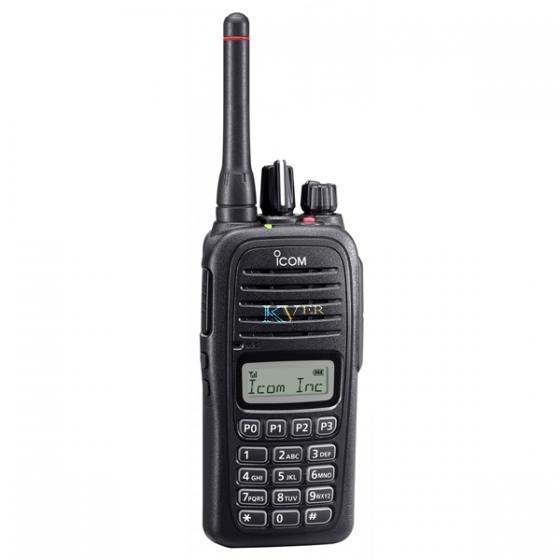 TALKIE WALKIE PORTATIF NUMERIQUE UHF IC-F21DT ICOM avec KVER Maroc