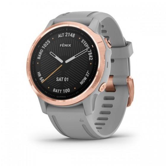 Fēnix 6S Pro and Sapphire avec bracelet gris