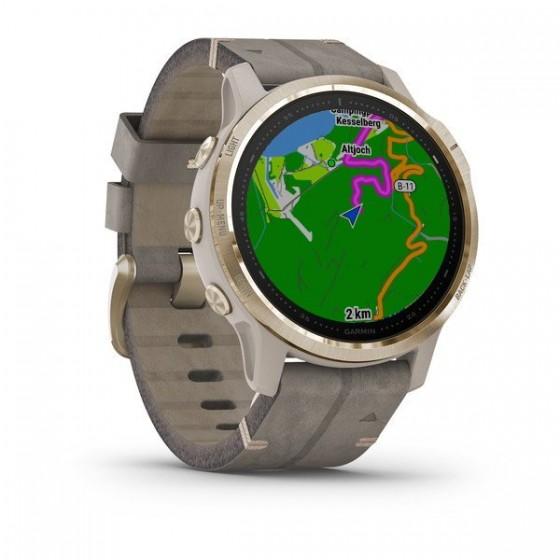 Fenix 6S Pro and Sapphire avec bracelet en Daim