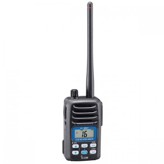 IC M87 ATEX PORTATIF MARINE VHF ICOM - KVER Maroc