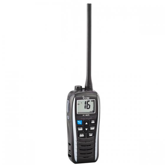 PORTABLE MARINE VHF 156-163.425 MHZ ÉTANCHE ICOM AVEC KVER MAROC