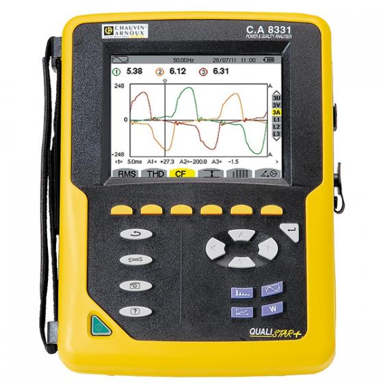 Analyseur de réseaux électrique QUALISTAR CA 8331 de CHAUVIN ARNOUX