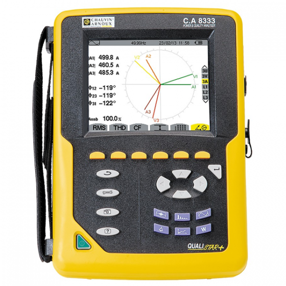 Analyseur de réseaux électrique QUALISTAR CA 8333 de CHAUVIN ARNOUX Maroc