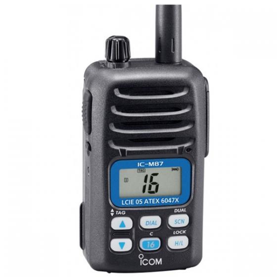 IC-M87 VHF ATEX MARINE TALKIE WALKIE