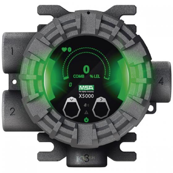 X5000 Détecteur de Gaz MSA sur le MAROC