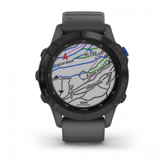 Fenix 6 Pro Solard Edition Black avec bracelet ardoise