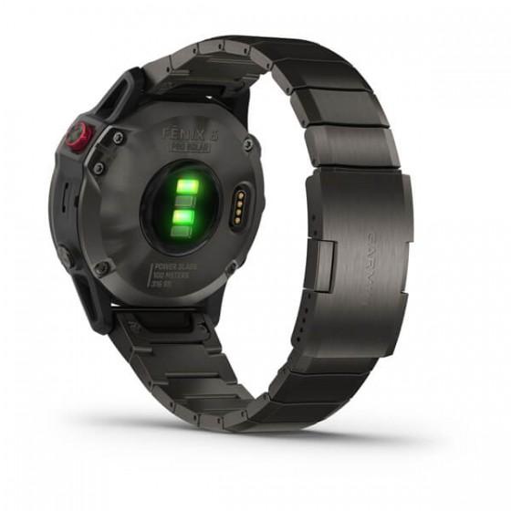Fenix 6 - Pro Solar Edition Titane