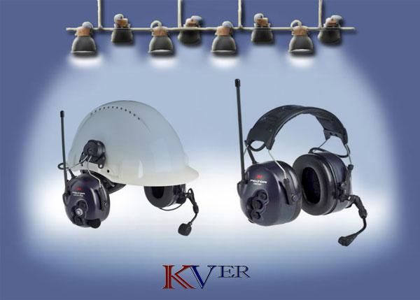Radio casque anti bruit MOTOROLA, 3M, PELTOR